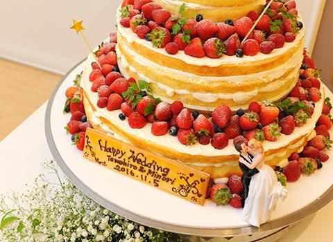 ウェディングケーキ & デザート