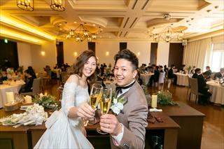 「サイコー」な結婚式